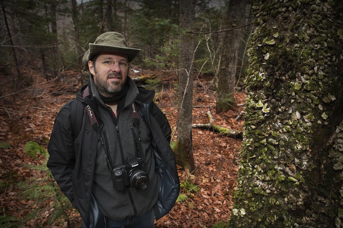 portrait Vincent Drolet Photographe / Graphiste Stoneham Québec Canada