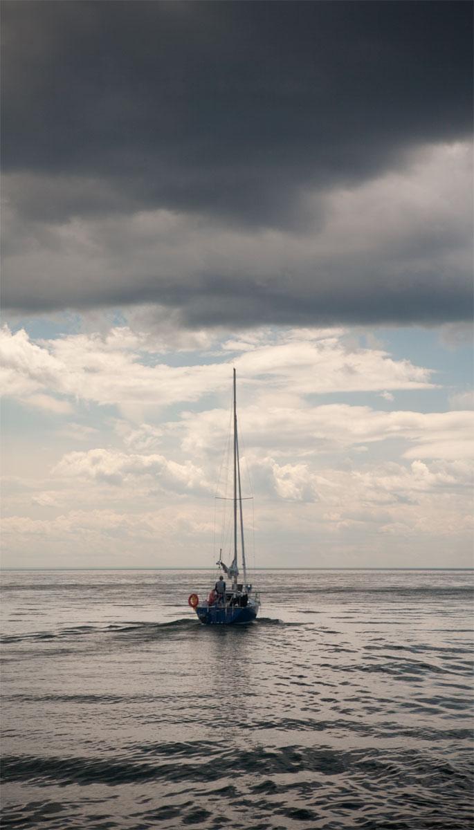 Gaspésie - Mer - voilier